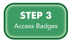 Steps 3 of badge creation process